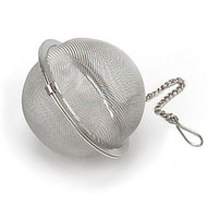 2 1/2 inch tea ball, perfect for a pot of tea.
