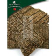 Eucommia Bark - Medium (Du Zhong) - Sliced Form 1 lb - Plum Flower Brand