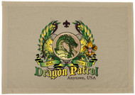 Custom Green Dragon Patrol Patch Flag with Colored Wings (SP5759)