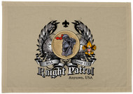 Custom Knight Patrol Patch Flag with Colored Wings (SP5757)