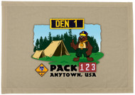 Custom Bear Den Flag (SP5928)