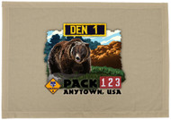 Custom Bear Den Flag - Realistic (SP5926)