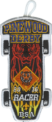2016 Pinewood Tribal Tiger Racer Patch