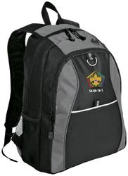 Contrast Honeycomb Backpack - GRC Wood Badge S4-86-16-1