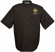 Men's Fishing Shirt Short Sleeves - GRC Wood Badge S4-86-16-1