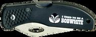 Wood Badge Bobwhite Critter Head Lockback Knife