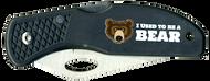 Wood Badge Bear Critter Head Lockback Knife