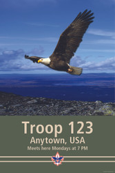 Custom Soaring Eagle Troop Poster (SP4669)