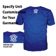 Unit Customization for Camp V-Bar 2018