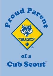 Proud Parent of a Cub Scout Magnet