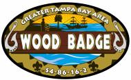 Stickers - GTBAC Wood Badge S4-86-16-2