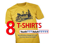 Gildan® 100% Polyester Shirt Size Sample Kit