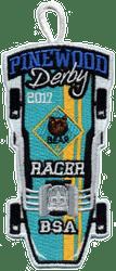 2017 Pinewood Bear Racer Patch
