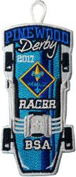 2017 Pinewood Webelos Racer Patch
