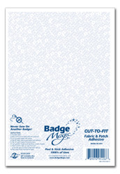 Badge Magic® Cut-To-Fit Kit Patch Adhesive (Half Sheet)