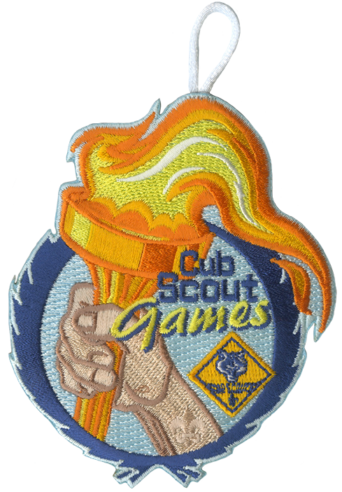 cub games olympics field day patch