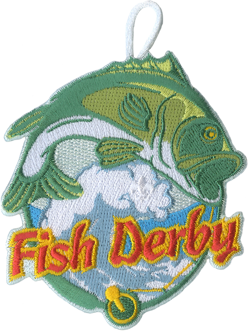fish derby cub scout patch