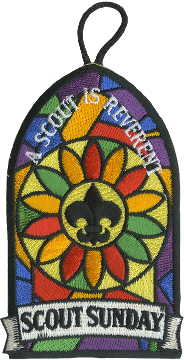 Boy Scout Sunday patch