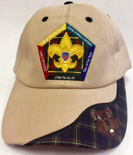 Wood Badge Beaver Critter Head Cap