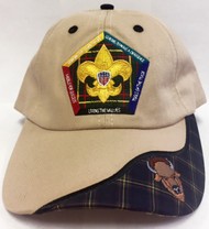 Wood Badge Buffalo Critter Head Cap
