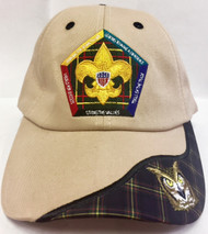 Wood Badge Owl Critter Head Cap
