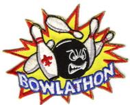 Bowlathon Boy Scout Patch