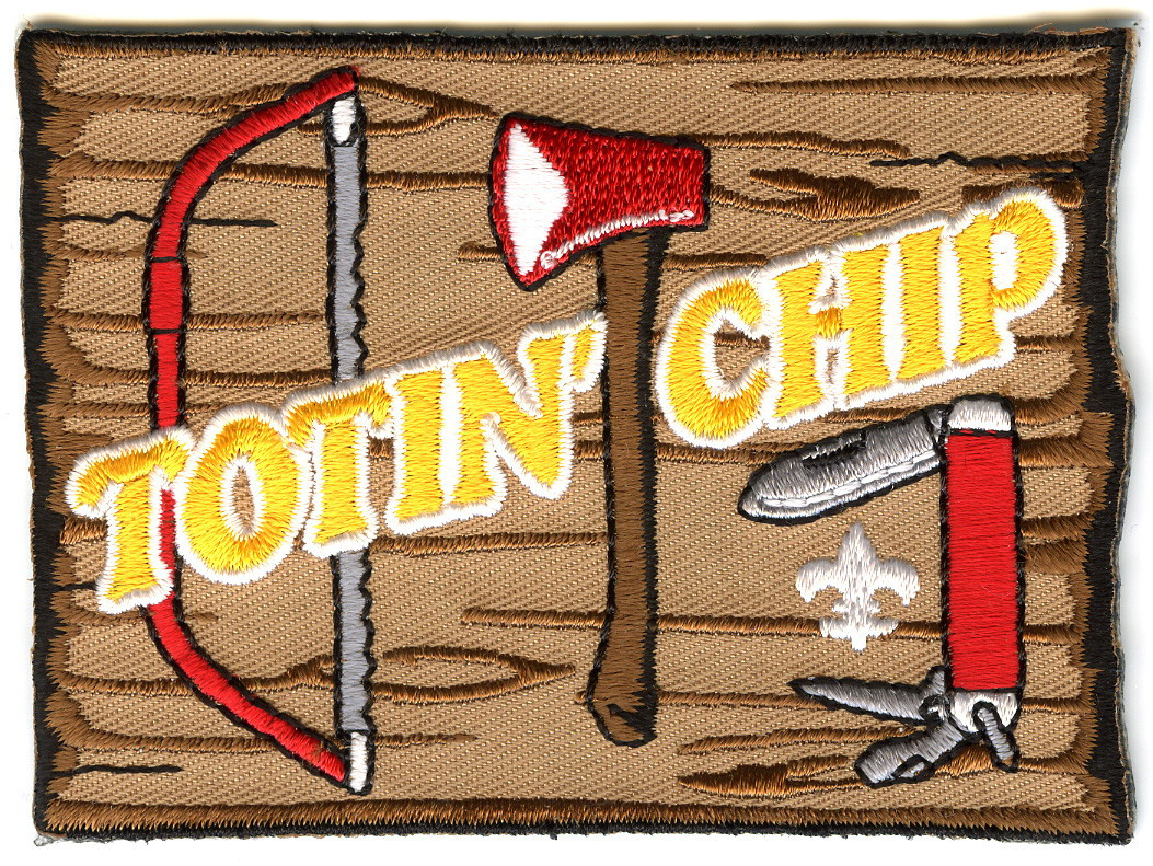 Totin Chip Boy Scout Patch