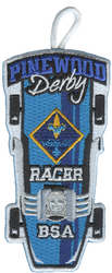 Pinewood Derby  Webelos Racer Patch