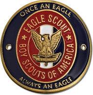 Eagle Scout Hiking Stick Medallion