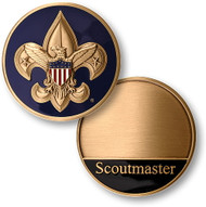 Boy Scout Troop Scoutmaster Coin