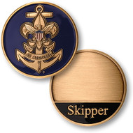 Sea Scouts Skipper Coin