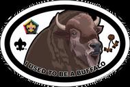 Wood Badge Buffalo Oval Magnet