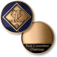 Cub Scout Pack Committee Chairman Coin