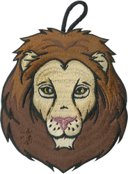 Lion Head Critter Patch