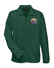Full-Zip Fleece Jacket - Knox Trail Wood Badge 2017