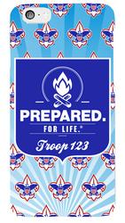 Prepared. For Life. Troop Phone Case SP6829