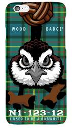 Wood Badge Bobwhite Critter Phone Case SP6831