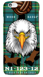 Wood Badge Eagle Critter Phone Case SP6831