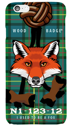 Wood Badge Fox Critter Phone Case SP6831