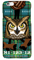 Wood Badge Owl Critter Phone Case SP6831