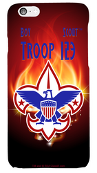 Flames Troop Phone Case SP6832