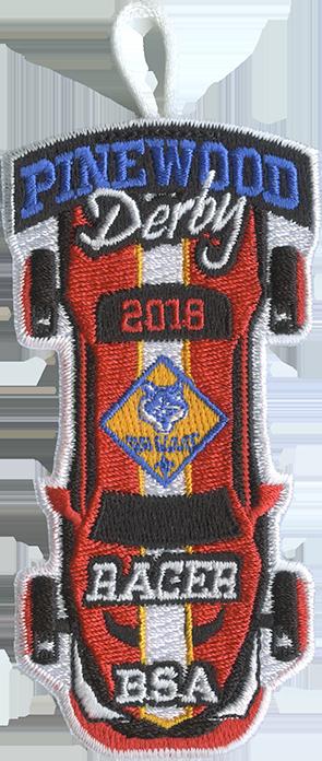 2018 Cub Scout Racer Patch