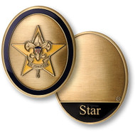 Star Scout Rank Coin