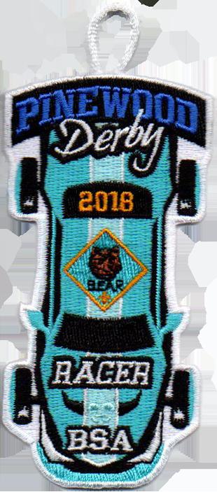 2018 Bear Cub Scout Racer Patch