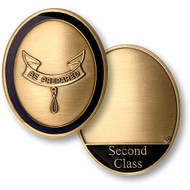 Second Class Scout Rank Coin