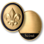 Scout Rank Coin