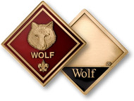 Wolf Cub Scout Coin