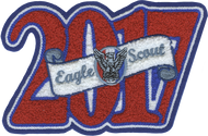 2017 Eagle Scout Letterman Jacket Patch