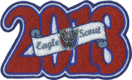 2018 Eagle Scout Letterman Jacket Patch