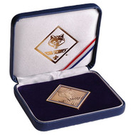 Cub Scout Leatherette Box - Diamond